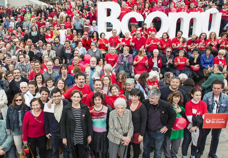 Barcelona en Comú: el movimiento municipalista para la toma de las instituciones
